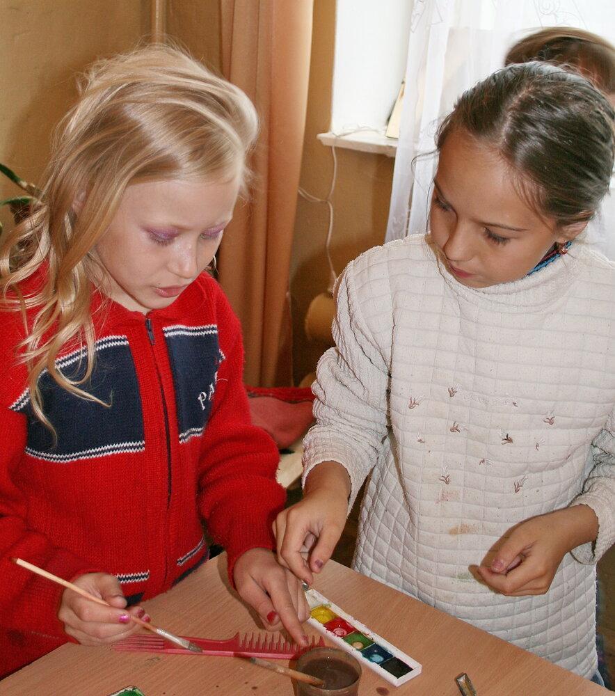 Ваш ребенок любит рисовать?