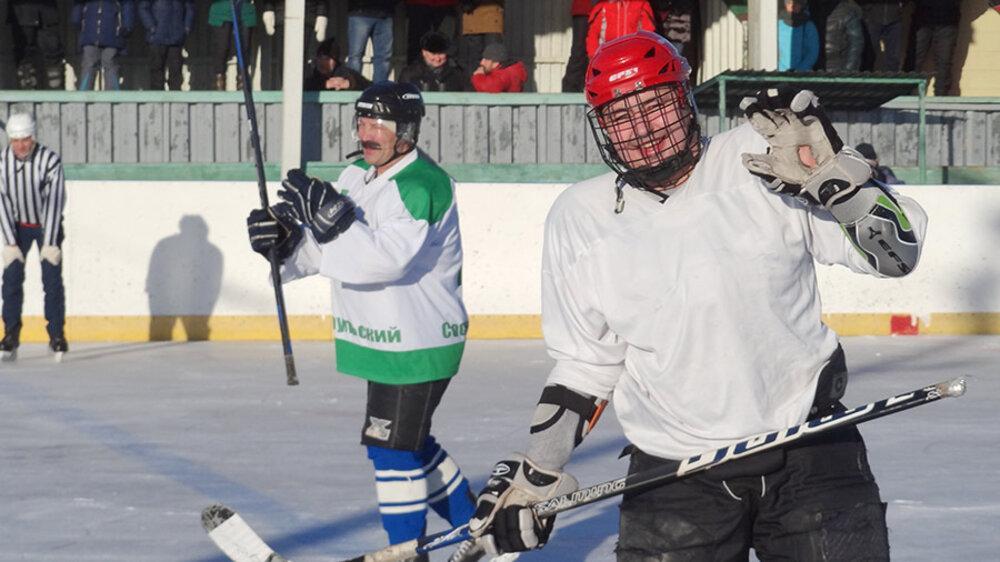 В Сосновском районе хоккей не заканчивается