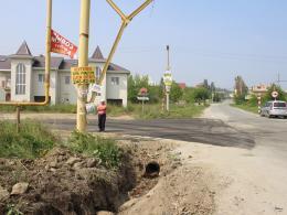 Поворот на Храмовую